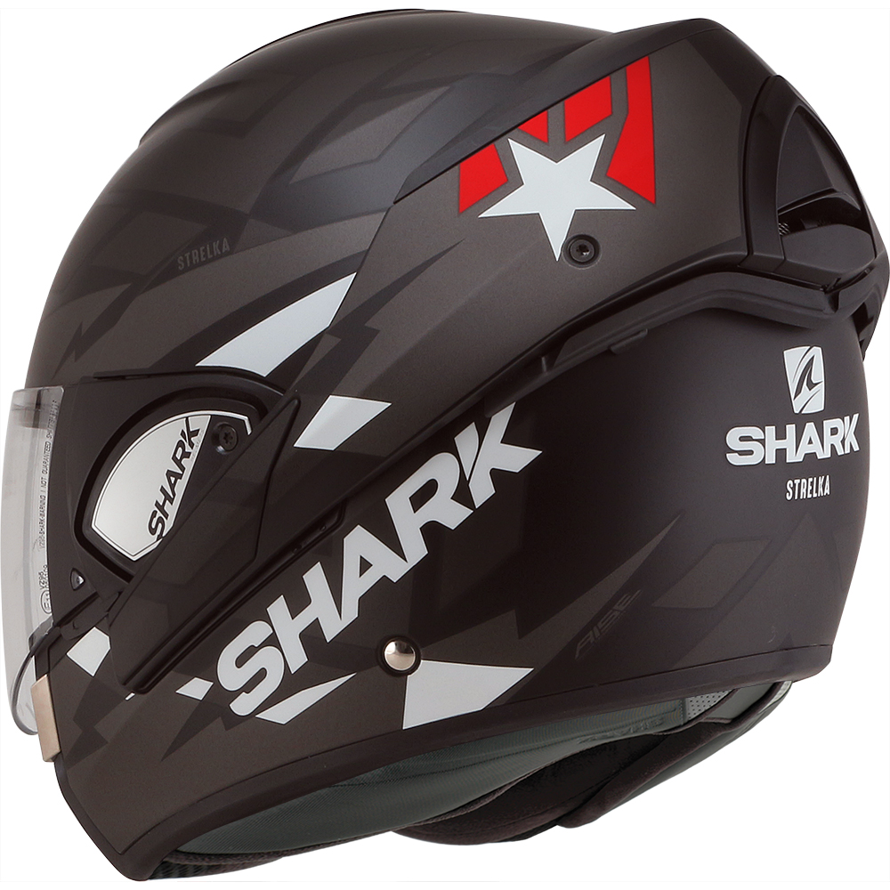 casque moto modulable shark evoline 3 rouge. Black Bedroom Furniture Sets. Home Design Ideas