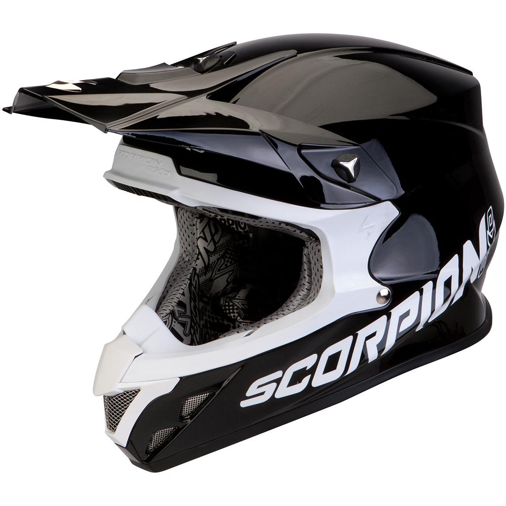 Casque scorpion petrol noir for Housse moto dafy