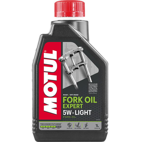 Huile Fork Oil Expert Light 5W 1L