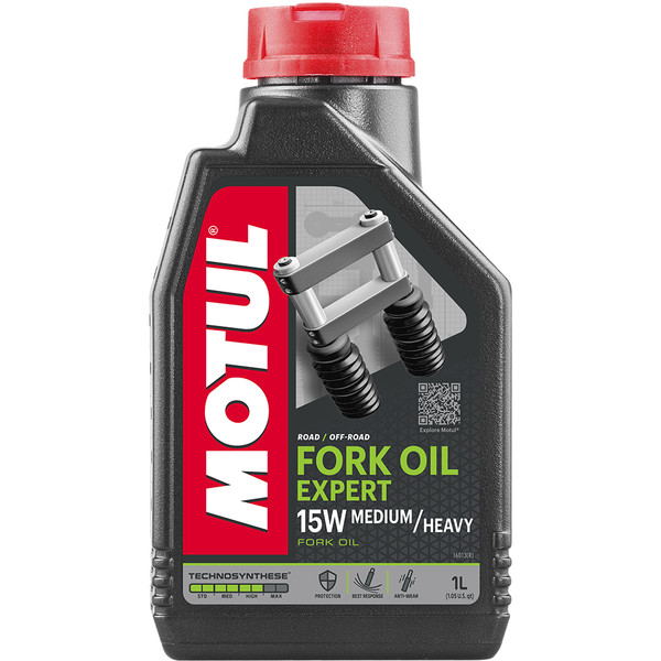Huile Fork Oil Expert Medium/Heavy 15W 1L