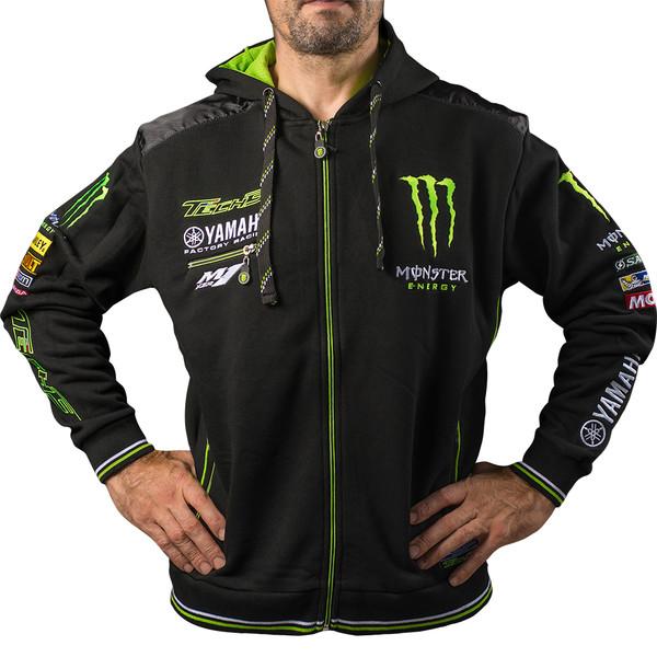 sweat yamaha tech 3 hoodie monster energy moto dafy moto sweat et veste zipp e de moto. Black Bedroom Furniture Sets. Home Design Ideas