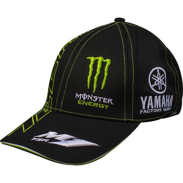 casquette team yamaha tech 3 monster energy moto dafy moto casquette et bonnet de moto. Black Bedroom Furniture Sets. Home Design Ideas