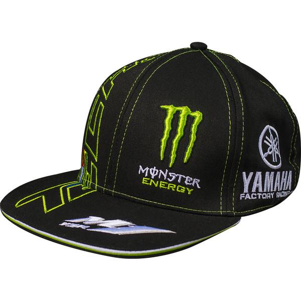 casquette team yamaha tech 3 flat monster energy moto dafy moto casquette et bonnet de moto. Black Bedroom Furniture Sets. Home Design Ideas