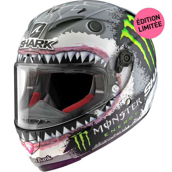 Casque Race-R Pro Lorenzo White Shark