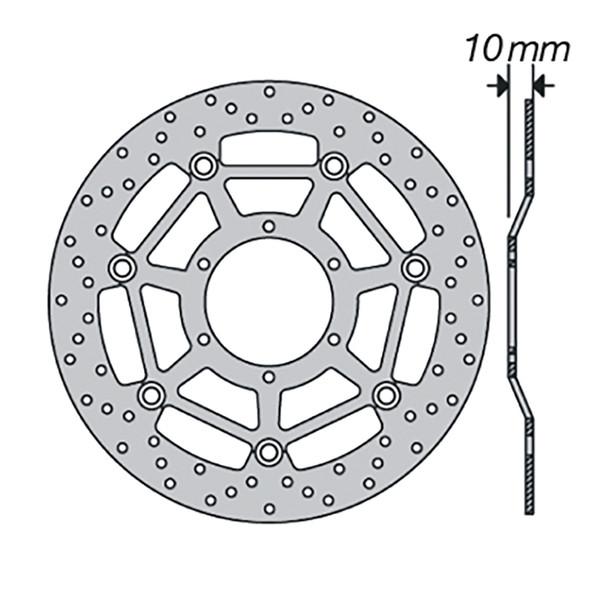 Disque de frein FE.FL17501