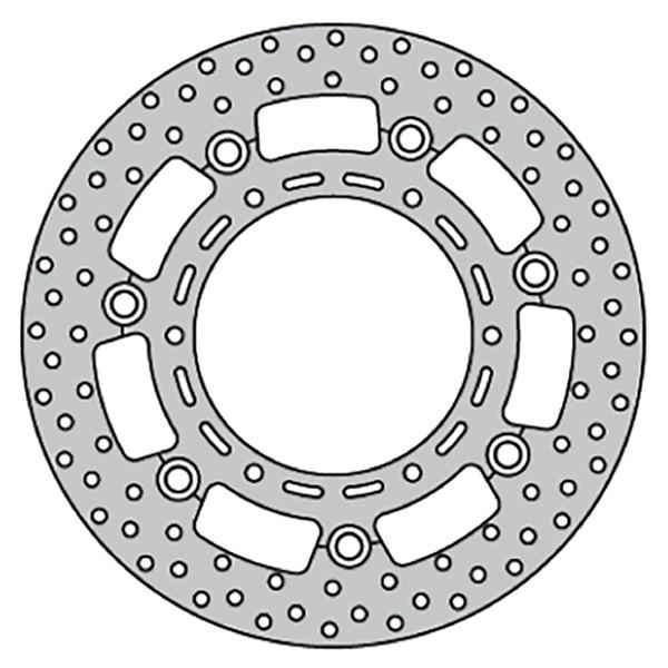 Disque de frein FE.FL30509