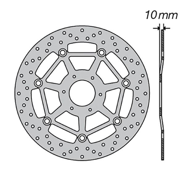 Disque de frein FE.FL31501