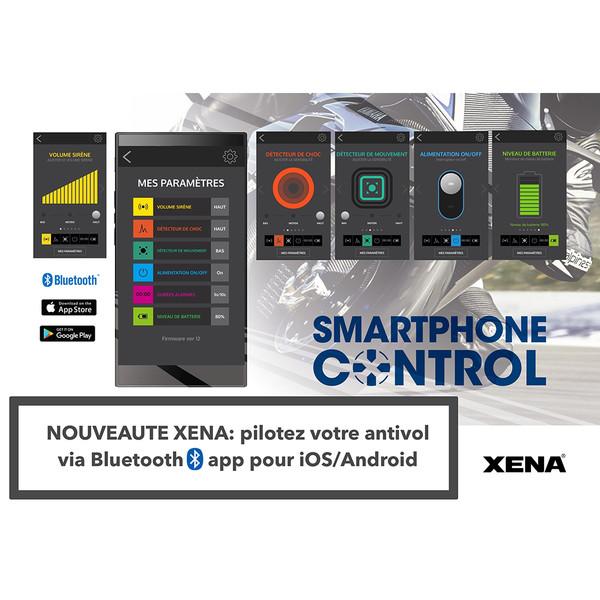 Bloque Disque Alarme XX10 Bluetooth SRA