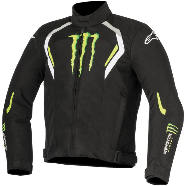 blouson spirit waterproof monster energy alpinestars moto dafy moto blouson de moto. Black Bedroom Furniture Sets. Home Design Ideas
