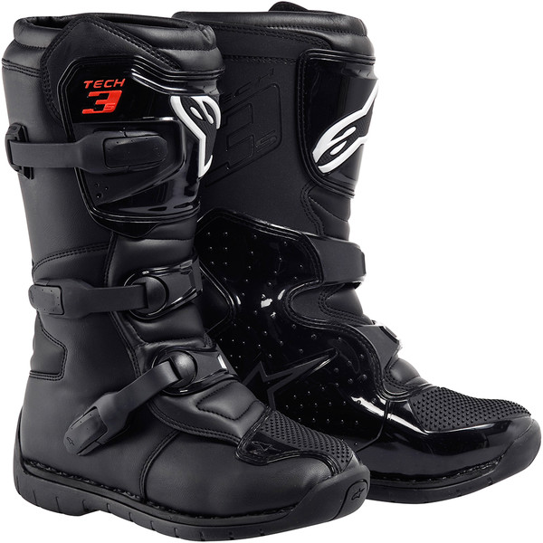 bottes tech 3s enfant alpinestars moto dafy moto botte tout terrain de moto. Black Bedroom Furniture Sets. Home Design Ideas
