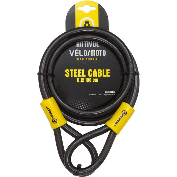 Câble Antivol Steelcable 180 cm