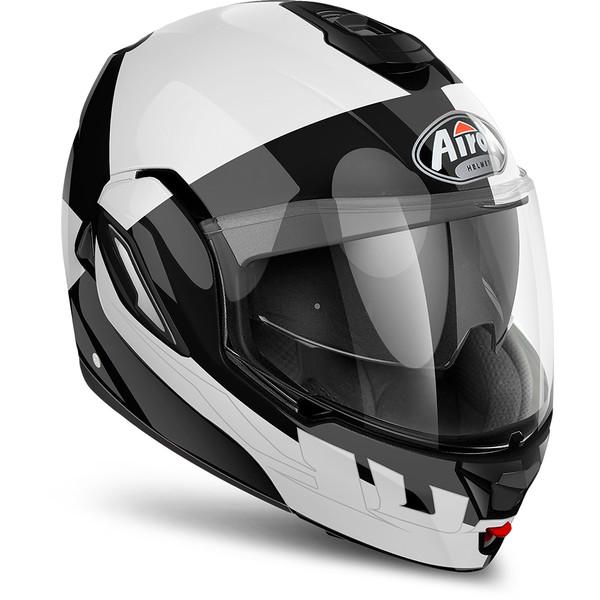 casque rev fusion airoh moto dafy moto casque modulable de moto. Black Bedroom Furniture Sets. Home Design Ideas