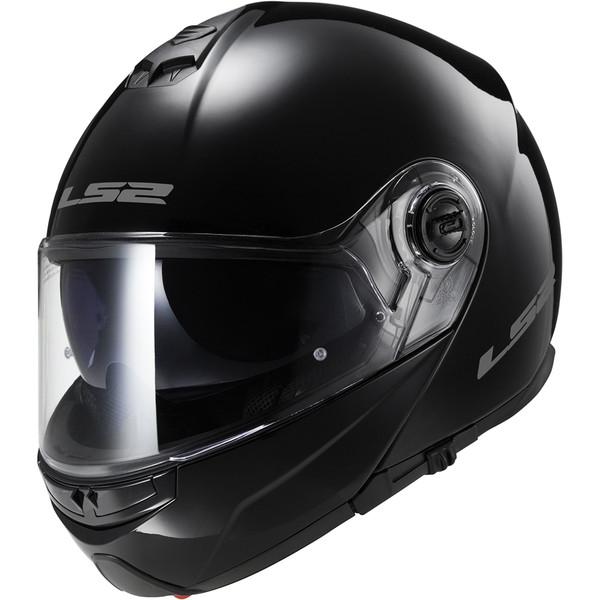 Casque Ff325 Strobe Solid Ls2 Moto Dafy Moto Casque Modulable De Moto