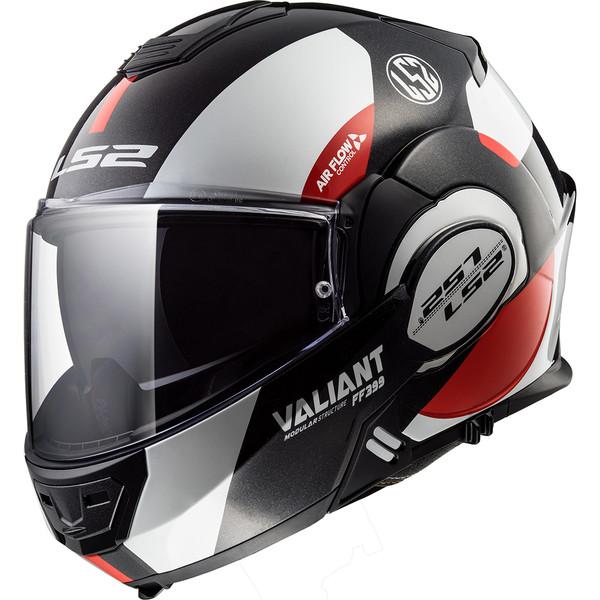 Casque Ff399 Valiant Avant Ls2 Moto Dafy Moto Casque Modulable De