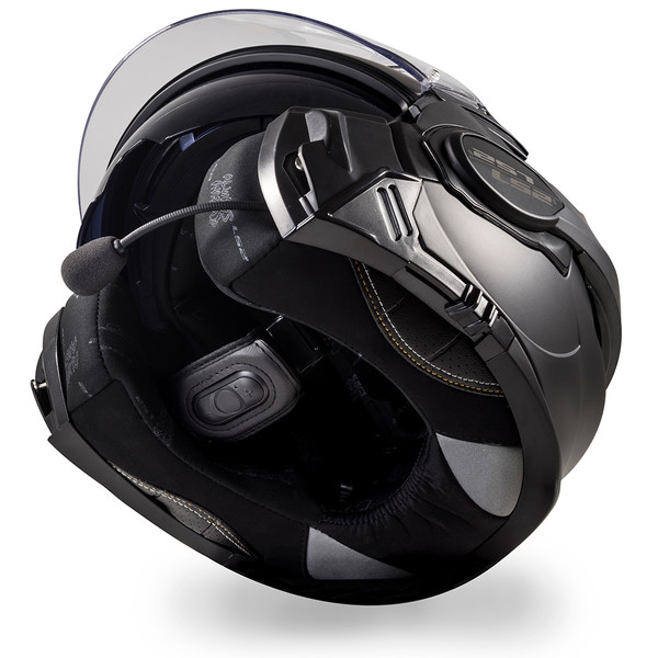 casque ff399 valiant bluetooth black s rie by sena ls2 moto dafy moto casque modulable de moto. Black Bedroom Furniture Sets. Home Design Ideas