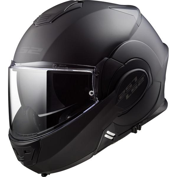 Taille S LS2 VALIANT Noir Noir S Casque moto LS2 LS2