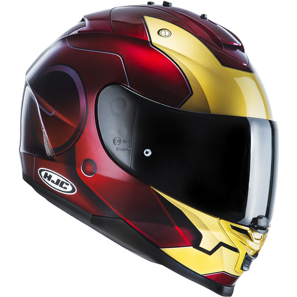 casque is 17 iron man hjc moto dafy moto casque int gral de moto. Black Bedroom Furniture Sets. Home Design Ideas