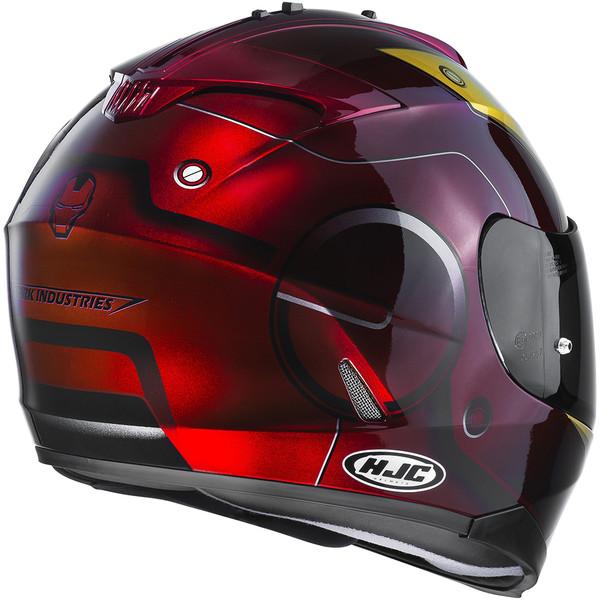casque is 17 iron man moto dafy moto casque int gral de moto. Black Bedroom Furniture Sets. Home Design Ideas