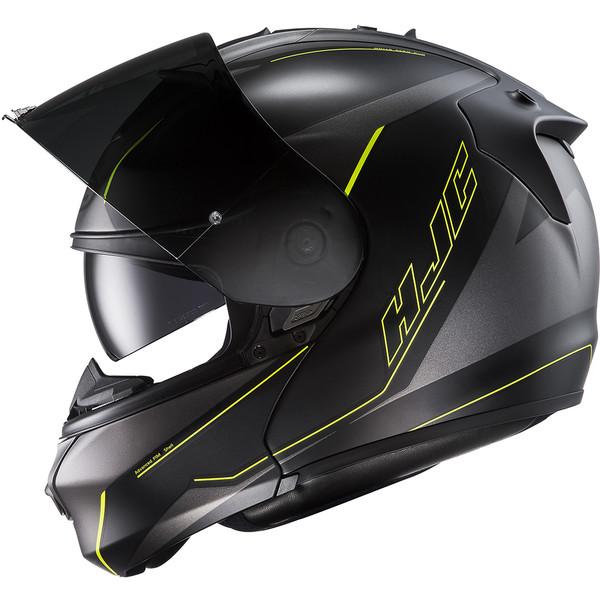 casque rpha max evo dorgon hjc moto dafy moto casque modulable de moto. Black Bedroom Furniture Sets. Home Design Ideas