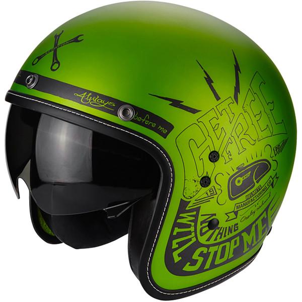 casque belfast fender scorpion moto dafy moto casque jet de moto. Black Bedroom Furniture Sets. Home Design Ideas
