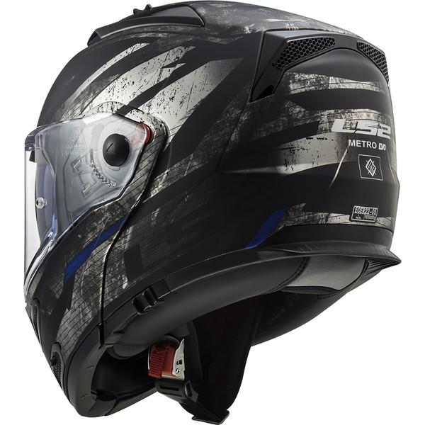 Casque Ff324 Metro Evo Buzz Ls2 Moto Dafy Moto Casque Modulable