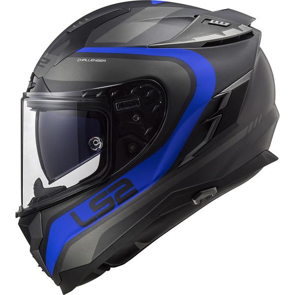 Casque Ff327 Challenger Fusion Ls2 Moto Dafy Moto Casque Intégral