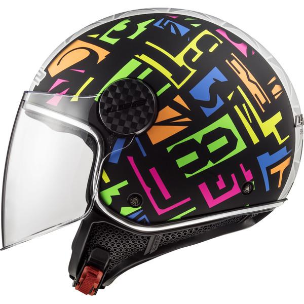 Casque Of558 Sphere Lux Crisp Ls2 Moto Dafy Moto Casque Jet De Moto