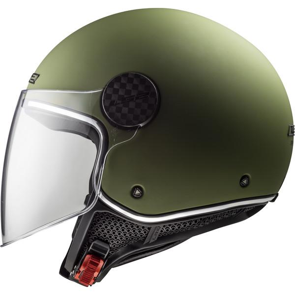 Casque Of558 Sphere Lux Solid Ls2 Moto Dafy Moto Casque Jet De Moto