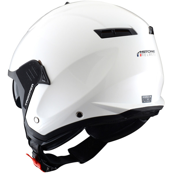 Casque Minijet Trooper Monocolor