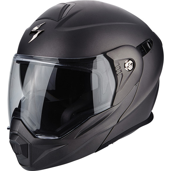 casque adx 1 solid moto dafy moto casque modulable de moto. Black Bedroom Furniture Sets. Home Design Ideas