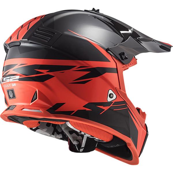 Casque MX437 Fast Evo Roar