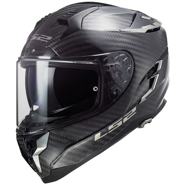 Casque FF327 Challenger Carbon Solid