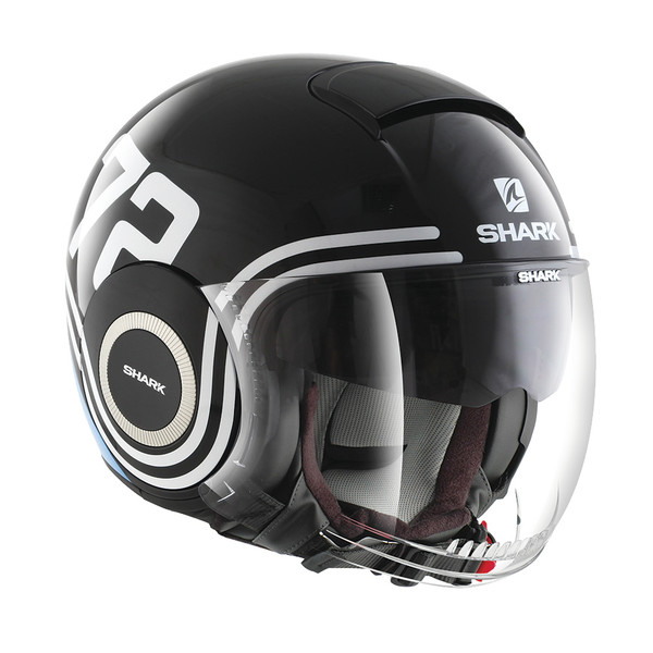 casque nano 72 shark moto dafy moto casque jet de moto. Black Bedroom Furniture Sets. Home Design Ideas