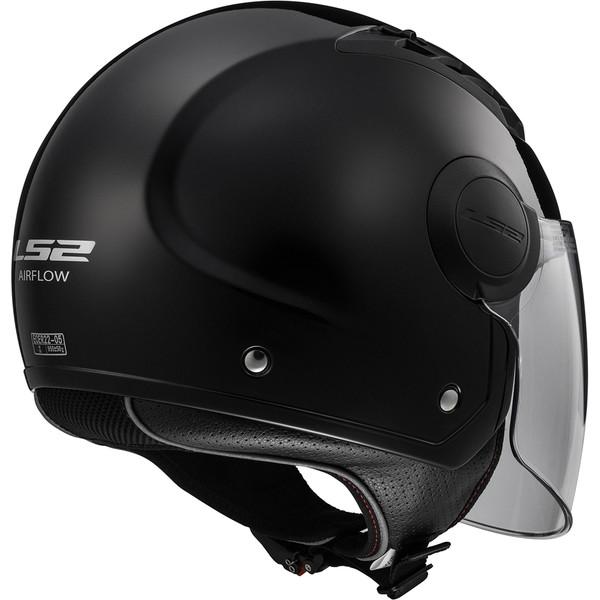 casque of562 airflow solid ls2 moto dafy moto casque. Black Bedroom Furniture Sets. Home Design Ideas