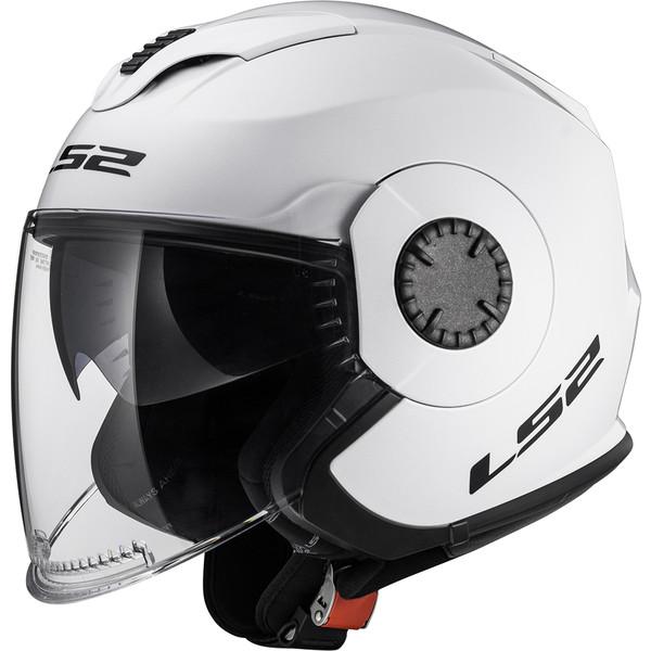Casque Of570 Verso Solid Ls2 Moto Dafy Moto Casque Jet De Moto