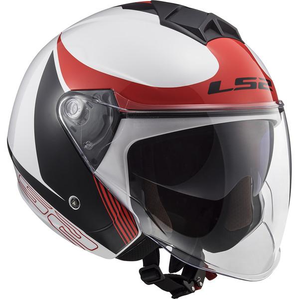casque of573 twister ii plane ls2 moto dafy moto casque jet de moto. Black Bedroom Furniture Sets. Home Design Ideas
