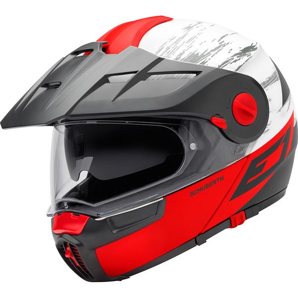 casque e1 crossfire schuberth moto dafy moto casque modulable de moto. Black Bedroom Furniture Sets. Home Design Ideas