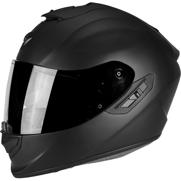 casque exo 1400 air solid scorpion moto dafy moto casque int gral de moto. Black Bedroom Furniture Sets. Home Design Ideas