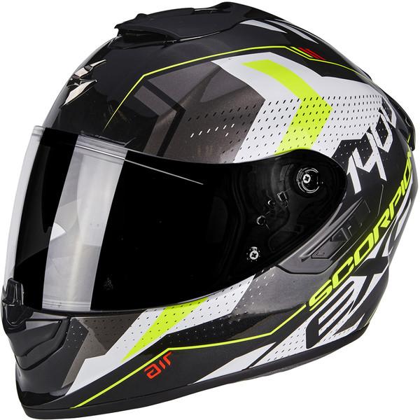 Noir SCORPION Casque moto EXO 1400 AIR CARBON Solid M