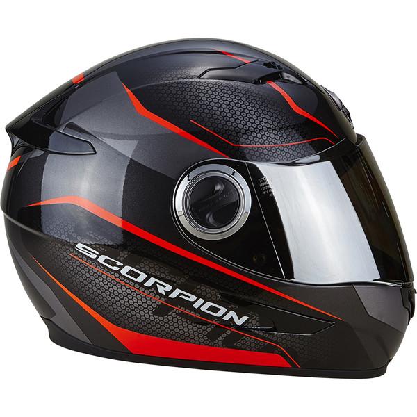 casque exo 490 vision scorpion moto dafy moto casque int gral de moto. Black Bedroom Furniture Sets. Home Design Ideas