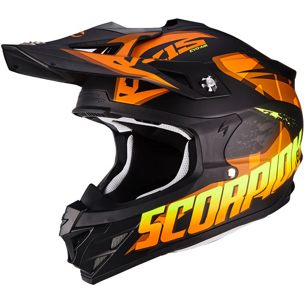 casque vx 15 evo air defender scorpion moto dafy moto casque tout terrain de moto. Black Bedroom Furniture Sets. Home Design Ideas