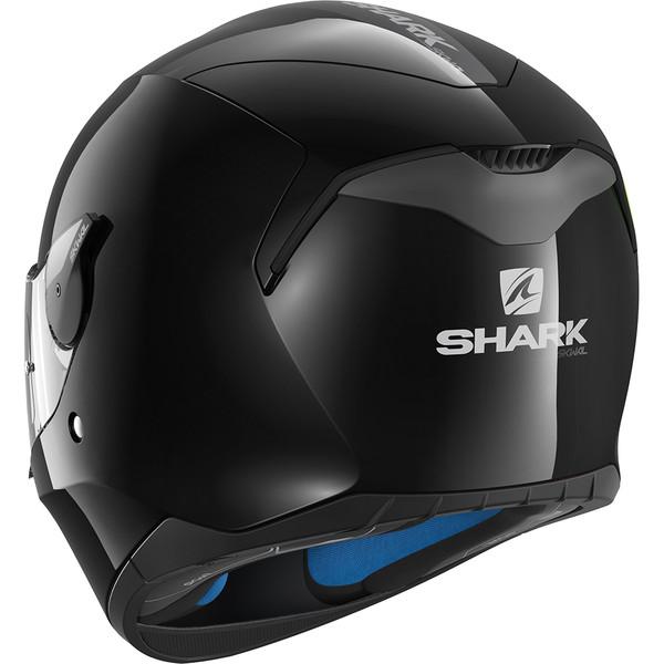 casque d skwal blank shark moto dafy moto casque int gral de moto. Black Bedroom Furniture Sets. Home Design Ideas