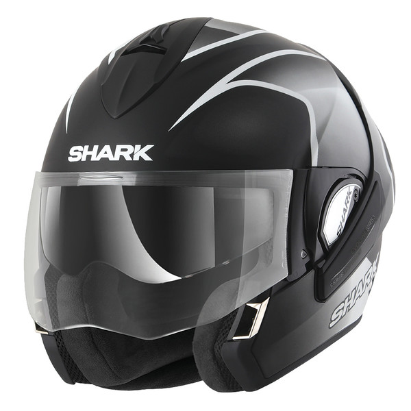 casque evoline series 3 starq mat shark moto dafy moto casque modulable de moto. Black Bedroom Furniture Sets. Home Design Ideas