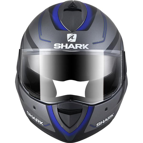 casque evoline series 3 hyrium shark moto dafy moto casque modulable de moto. Black Bedroom Furniture Sets. Home Design Ideas