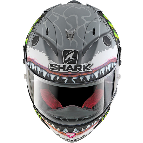 casque race r pro lorenzo white shark shark moto dafy moto casque int gral de moto. Black Bedroom Furniture Sets. Home Design Ideas