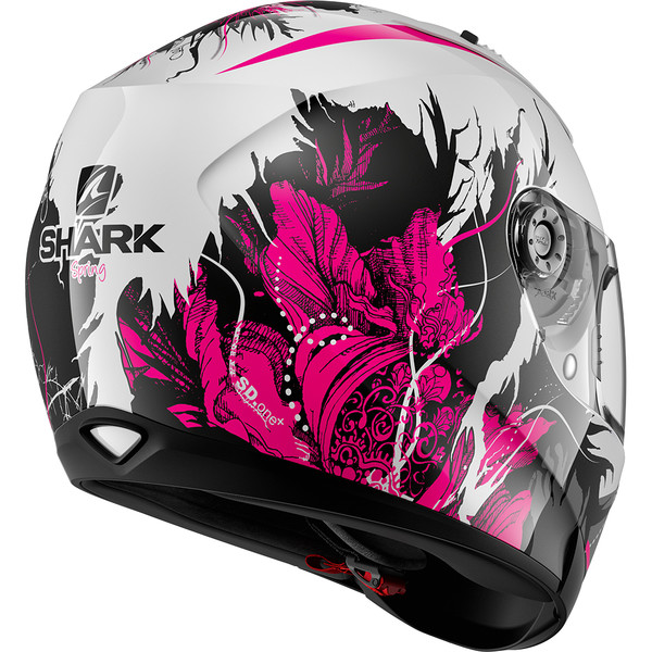 SHARK-casque-moto-integral-SKWAL-2-TRION casque moto femme nox n242 rose  paillete jet vintage scooter Casque Ridill Spring ... 6294c5956902