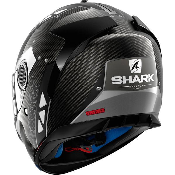 casque spartan carbon bionic moto dafy moto casque int gral de moto. Black Bedroom Furniture Sets. Home Design Ideas