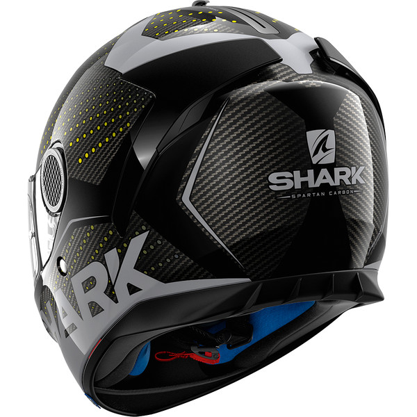 casque spartan carbon cliff shark moto dafy moto casque int gral de moto. Black Bedroom Furniture Sets. Home Design Ideas