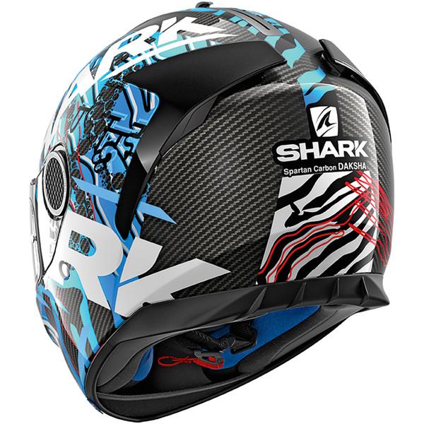 Casque Spartan Carbon Daksha Shark Moto Dafy Moto Casque Intégral