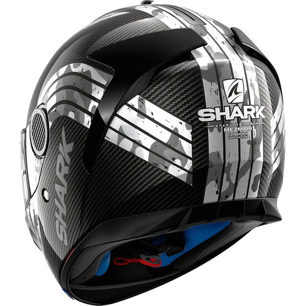 casque spartan carbon mezmair shark moto dafy moto casque int gral de moto. Black Bedroom Furniture Sets. Home Design Ideas